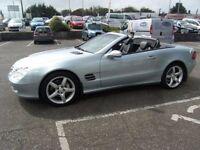 AUTOMATIC 2003 03 MERCEDES-BENZ SL 5.0 SL500 2D AUTO 306 BHP***GUARANTEED FINANCE***PART EX WELCOME*