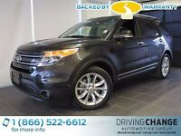 2014 Ford Explorer Limited-Moon Roof-Nav-Active Park Assist