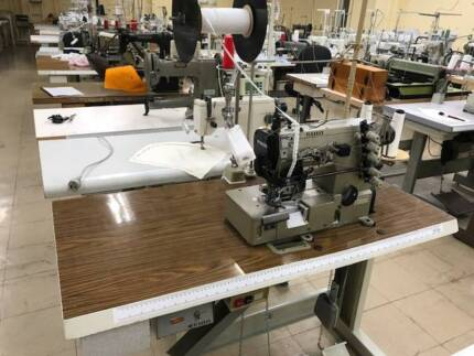 Industrial Sewing Machines –Elastic Lace Attaching Machine