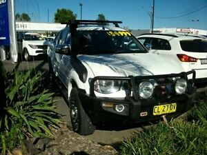 2013 Mitsubishi Triton MN MY13 GLX-R Double Cab White 5 Speed Sports Automatic Utility South Grafton Clarence Valley Preview