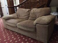 **FREE** Light Brown 2 Seater Sofa