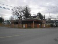 Commercial Zoned lot with heritage style building on it for sale