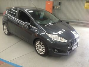 2014 Ford Fiesta WZ Sport Grey 5 Speed Manual Hatchback Maryville Newcastle Area Preview