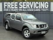 2009 Nissan Navara D40 RX Grey 6 Speed Manual Utility Reynella Morphett Vale Area Preview