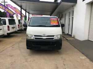 2012 Toyota HiAce KDH201R MY12 Upgrade LWB White 4 Speed Automatic Van Lidcombe Auburn Area Preview