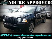 2009 Jeep Compass 4x4 $99 DOWN EVERYONE APPROVED