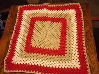 Brand new crochet pet blankets all proceeds to PDSA