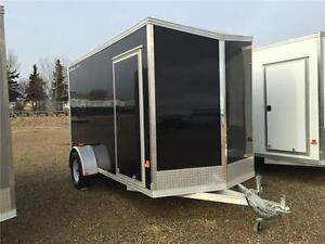New Alcom STEALTH 6x12 Enclosed Trailer - 2 Colors in Stock!!!