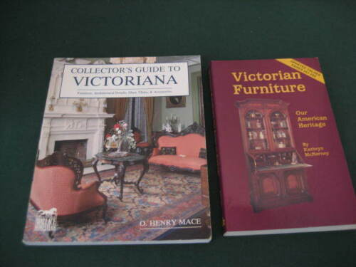 Two Victorian collector's books – Guide to Victoriana & Victorian Furniture