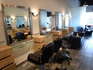 We can buy your entire used salon / Spa & nail salon furniture &
