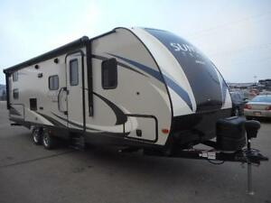 2017 SUNSET TRAIL 264 BH TRAVEL TRAILER - DOUBLE BUNKS