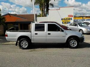 2003 Holden Rodeo TF Crew Cab Silver 5 Speed Automatic Utility