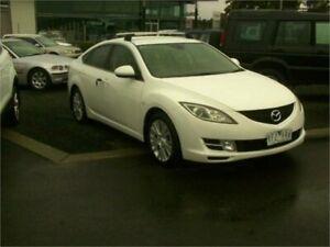 2009 Mazda 6 White 6 Speed Manual Sedan Traralgon Latrobe Valley Preview