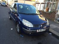 Renault Scenic Dynamic 1.6 Auto, 5 doors , low mileage, well maintained powerful engine, long mot