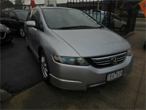 2005 Honda Odyssey 20 Luxury Silver 5 Speed Sequential Auto Wagon Burwood Whitehorse Area Preview