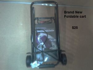 Collapsable / Foldable luggage - trolly cart - Brand New