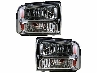 Headlight Assembly Set For 2005-2007 Ford F250 Super Duty 2006 F435GN
