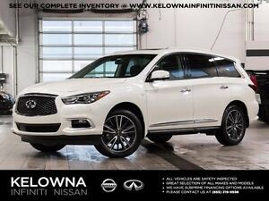 2016 Infiniti QX60 3.5 All-wheel Drive with Premium and Deluxe T