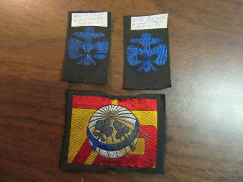 Germany Lot of 3 Boy Scout Patches       eb25