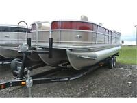 We've Got Pontoons In Stock and on Display! Call Matt Burk :)