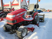 Like New-Only 72 Hours, Massey Ferguson GC2300 with mid mower.