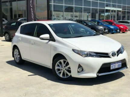 2012 Toyota Corolla ZRE182R Ascent Sport S-CVT White 7 Speed Constant Variable Hatchback Palmyra Melville Area Preview