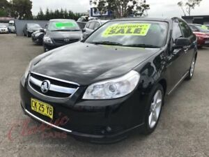 2007 Holden Epica EP CDXi Black 5 Speed Automatic Sedan Lansvale Liverpool Area Preview