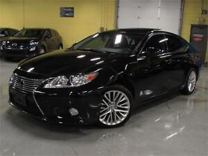 2013 Lexus ES 350/NAVIGATION/ REAR CAM/ PANO ROOF/BLIND SPOT/ AL