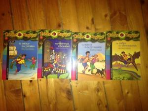Plusieurs livres de la Cabane magique