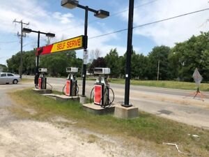 property and Gas station for sale good for INVESTORS also