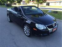 2008 VOLKWAGEN EOS*AUTO PADDLE SHIFT*PANO*HARD TOP CONVERTIBLE