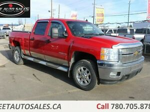 2011 Chevrolet Silverado 2500HD LT 4x4 Crew Cab Leather 6 Passen