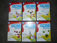 *Reduced* 6 x LETTS GCSE CD ROM Software, Brand New, Inc.Maths,English,French,Chemistry,Physics