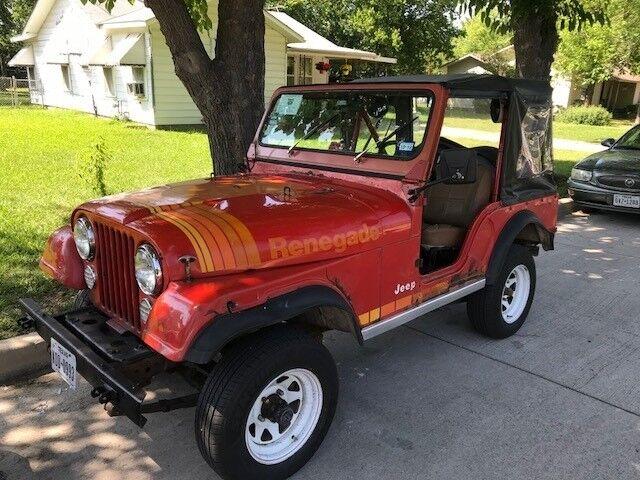 "1979 Jeep CJ CJ5 1979 Jeep CJ5 Renegade ""Levi Strauss"" Edition"