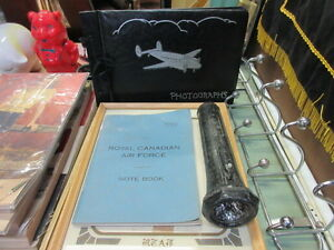 vintage royal canadian air force items