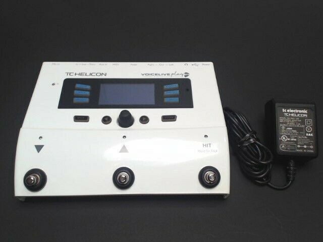TC-Helicon Voicelive Play GTX Vocal/Electric Guitar Effect Processor