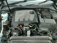 Vw golf mk6 skoda octavia mk2 1.6 tdi cay engine done 67k