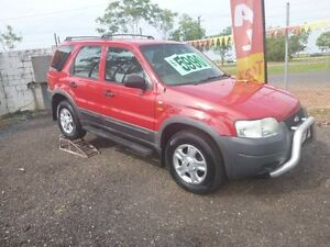 2003 Ford Escape XLS Red 4 Speed Auto Active Select Wagon Holtze Litchfield Area Preview