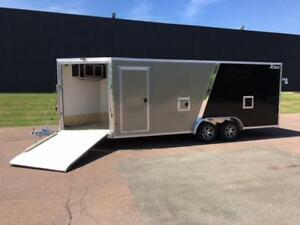 NEW 2019 XPRESS 7.5' x 25' ALL-SPORT SNOWMOBILE TRAILERS