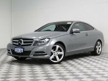 2013 Mercedes-Benz C250 W204 MY13 BE Silver 7 Speed Automatic G-Tronic Coupe Jandakot Cockburn Area Preview