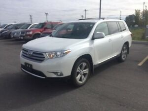 2013 Toyota Highlander LIMITED 4WD 1 OWNER LEATHER,ROOF LOADED V