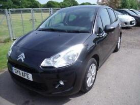 CITROEN C3 VTR PLUS HDI - FSH - CHEAP TAX - Black Manual Diesel, 2011