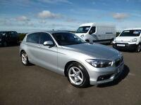 BMW 1 Series 116D SE (silver) 2015-06-10