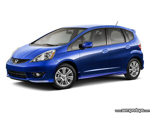 2011 Honda Fit DX-A Sedan