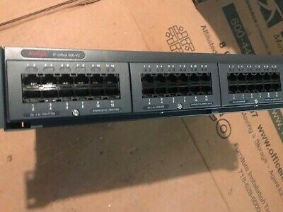 Avaya Ip Office 500 V2 Control Unit Pcs11 700476005. Used