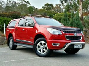 2013 Holden Colorado RG MY13 LTZ Crew Cab Red 6 Speed Sports Automatic Utility Littlehampton Mount Barker Area Preview
