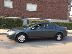 2004 chrysler SEBRING-  automatic- 112 000km- IMPECABLE-  1700$