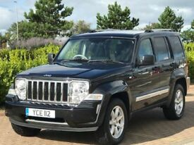 JEEP CHEROKEE 2.8 LIMITED 5d AUTO 175 BHP (black) 2009
