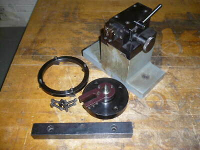 Moore Jig Grinder Borer Tailstock For Rotary Table 1
