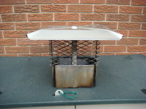 STAINLESS STEEL CHIMNEY CAP Cambridge Kitchener Area image 1